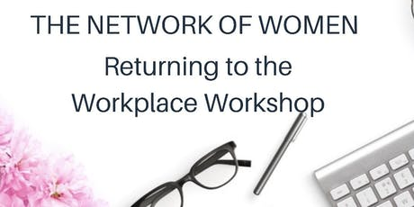 Women's Returning to The Workforce Workshop tickets