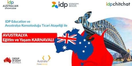 IDP Avustralya Eğitim ve Yaşam Karnavalı tickets