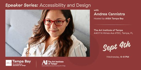 Speaker Series: Accessibility and Design with Andrea Cannistra tickets