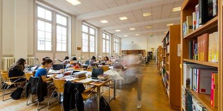 Visite de la Bibliothèque de Fels  billets