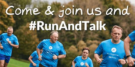 #RunAndTalk - Wellbeing Running tickets