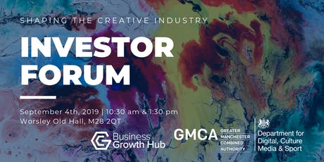 Shaping the Creative Industry - Morning Session tickets