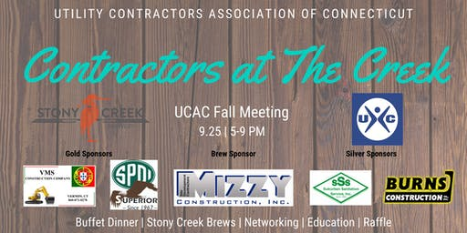 Utility Contractors Association of Connecticut Fall Meeting