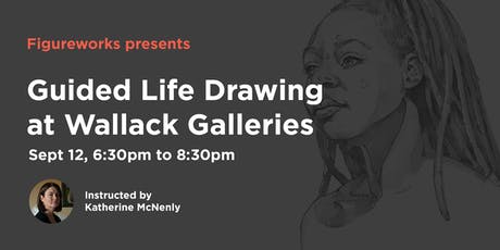 Figureworks Guided Life Drawing at Wallack Galleries tickets