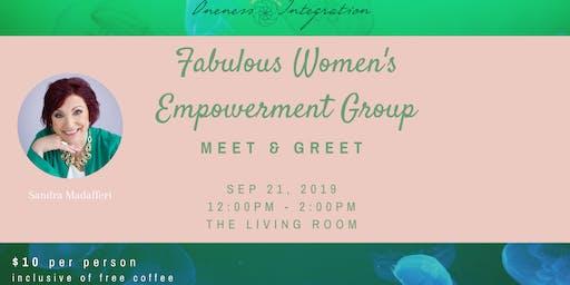 Fabulous Women's Empowerment Group MEET & GREET