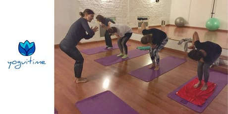 Yoga en las tardes - Nuevos Ministerios - Clase de Prueba entradas
