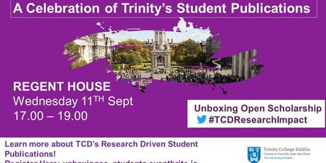 Celebration of TCD Student Publications tickets