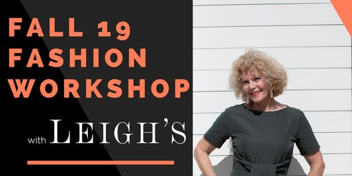 Michelle Krick Style and Leigh's Fall Fashion Workshop