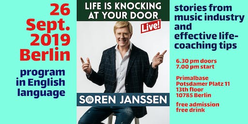 Life Is Knocking At Your Door (entertainment program & life coaching tips)