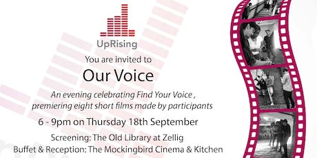 Our Voice - an evening celebrating the Find Your Voice programme tickets