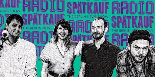 Radio Spaetkauf Podcast Recording November