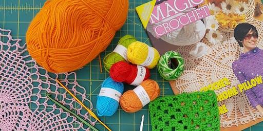Beginner Crochet Class - Waratah