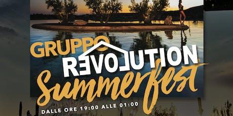 Gruppo Revolution Summer Fest 2019 biglietti