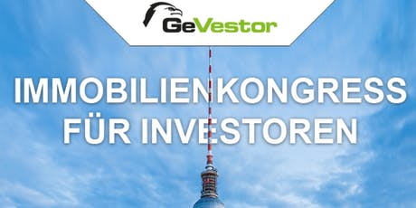 GeVestor Immobilien Kongress tickets