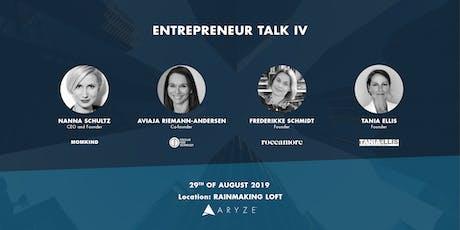Entrepreneur Talk IV tickets