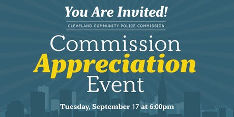 Community Police Commission Appreciation Event tickets