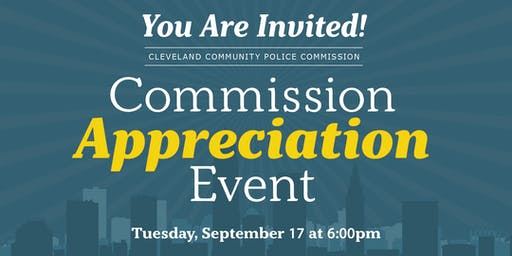 Community Police Commission Appreciation Event