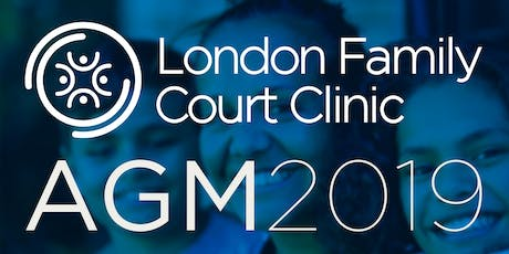 London Family Court Clinic - 2019 Annual General Meeting tickets