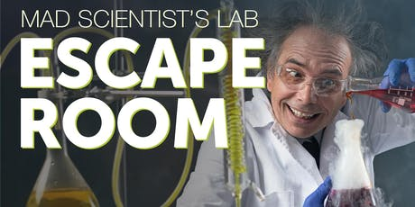Mad Scientist's Lab Escape Room tickets