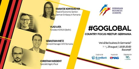 Germania - Your Next Scaleup Destination: Go Global, Romania! tickets