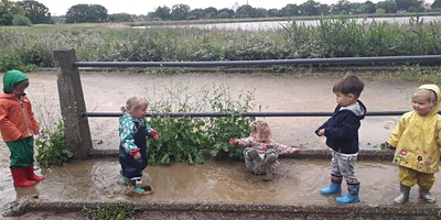 Nature Tots Forest School at Woodberry Wetlands -