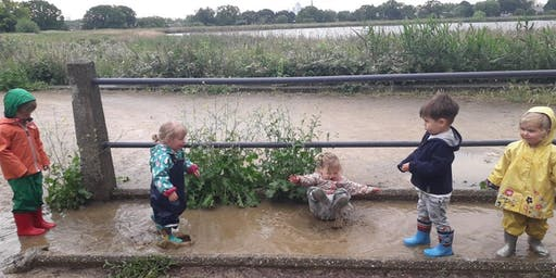 Nature Tots Forest School at Woodberry Wetlands - Thursday - Pay As You Go