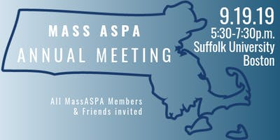 MassASPA Annual Meeting