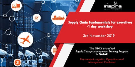 SUPPLY CHAIN FOR EXECUTIVES - 1 DAY TRAINING tickets
