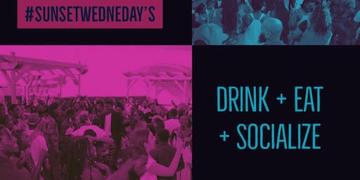August 28th #Sunset Wednesday at Golf & Social