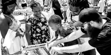 Family Art Workshop: Screen Printing for Social Change tickets