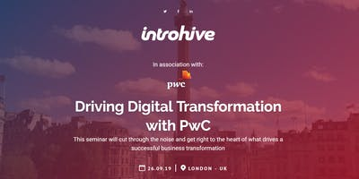 Driving Digital Transformation with PwC