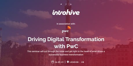 Driving Digital Transformation with PwC tickets