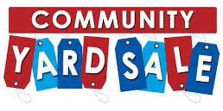 20+ HOMES!  12th ANNUAL FRITZ COMMUNITY YARD SALE EVENT! tickets