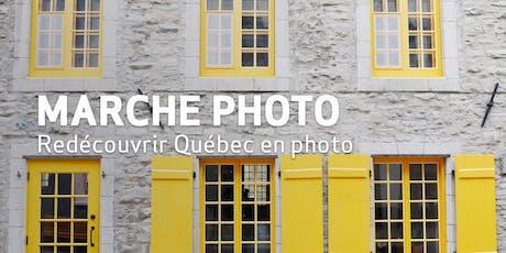 Marche Photo // Redécouvrir Québec en photo billets