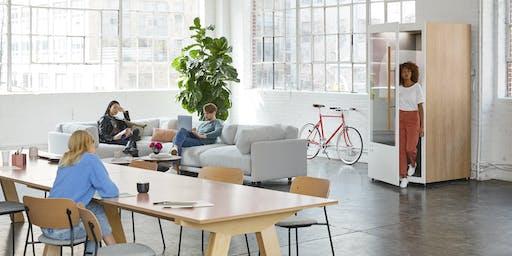 Management de l'espace, flex office:  les bureaux font leur révolution !