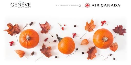 Air Canada Thanksgiving  2019