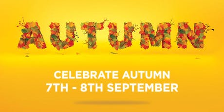 Celebrate Autumn Sunday 8th September tickets