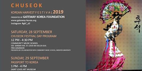 Chuseok Korean Harvest Festival 2019 tickets