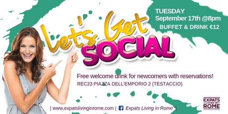 Let's get Social Aperitif in Testaccio tickets