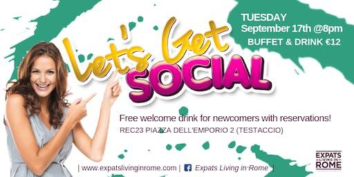 Let's get Social Aperitif in Testaccio