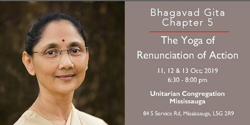 Bhagavad Gita Lecture series by Sunandaji