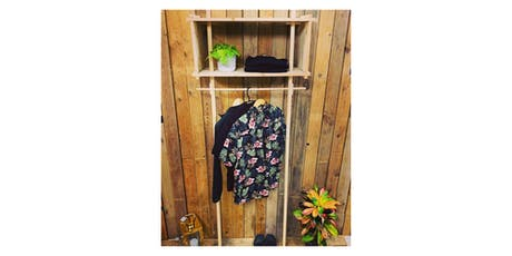 DIY-Workshop - Standgarderobe aus Holz Tickets