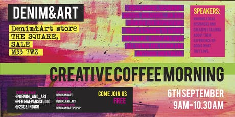 DENIM&ART-CREATIVE COFFEE MORNING tickets