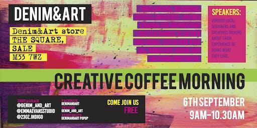 DENIM&ART-CREATIVE COFFEE MORNING