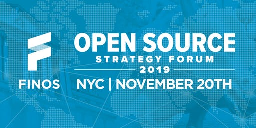 Open Source Strategy Forum - NYC 2019
