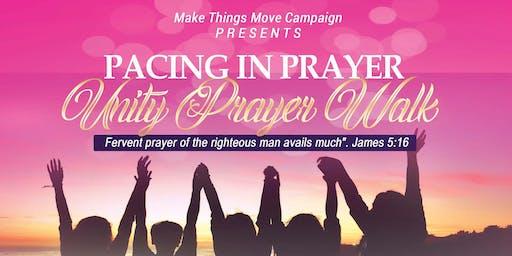 Pacing in Prayer ~ Unity Prayer Walk