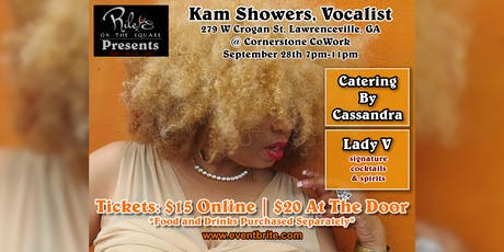 Riley's on the Square Presents… Kam Showers! tickets