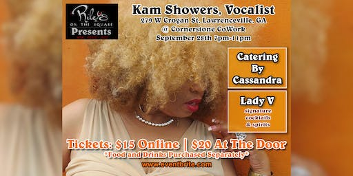 Riley's on the Square Presents… Kam Showers!