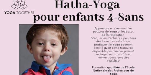 Yoga pour enfants 4-8ans : Yoguitas et Yoguitos à vos tapis !