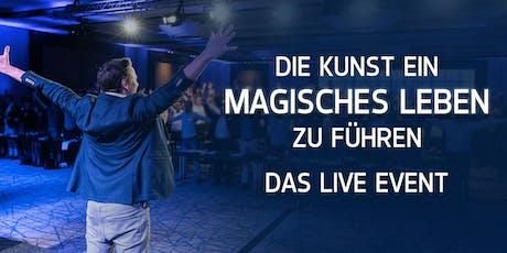 DIE KUNST EIN MAGISCHES LEBEN ZU FÜHREN - 2 zu 1 Aktion  Tickets